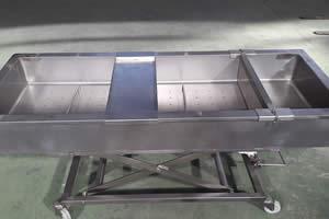 Mesa desueradora queserias